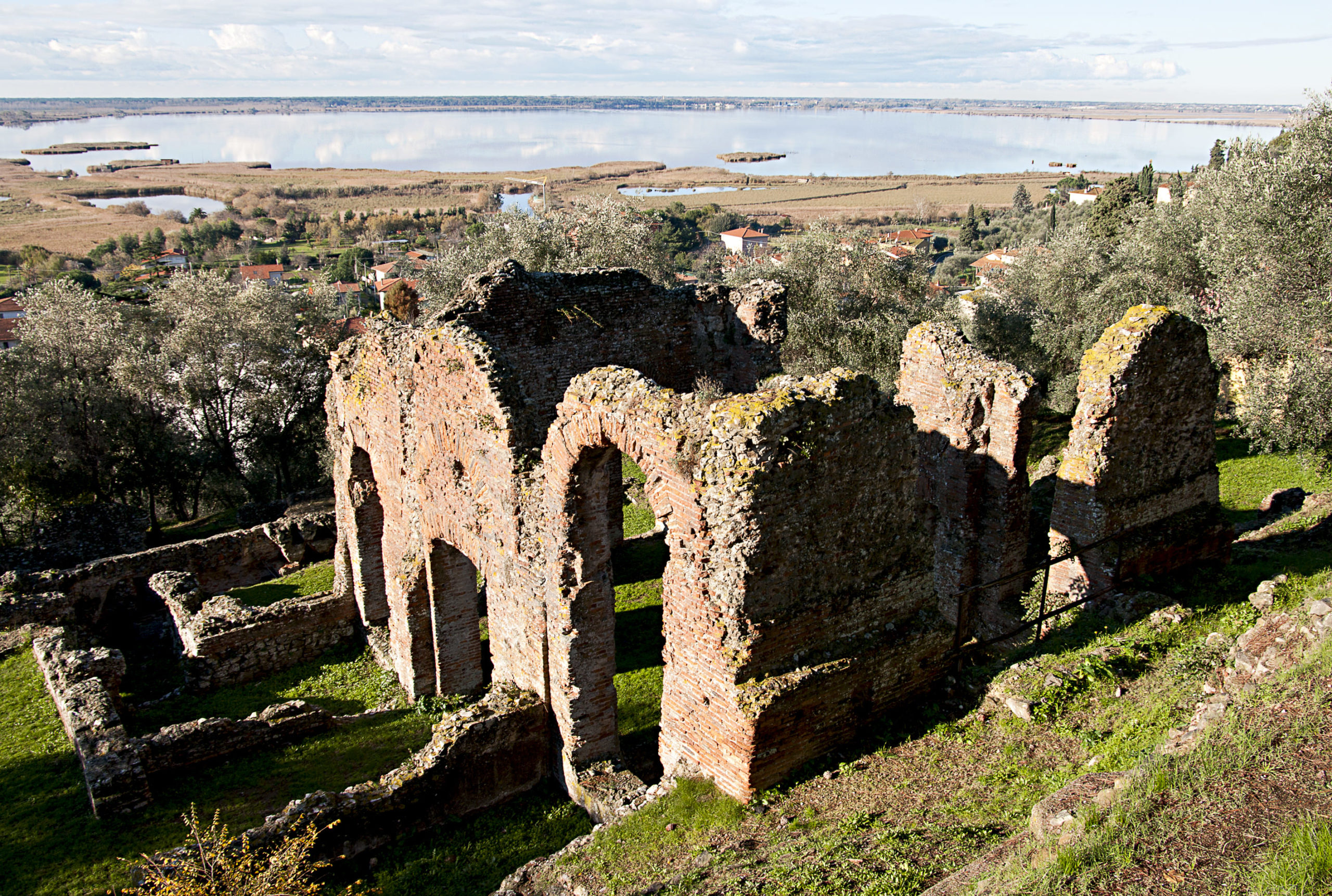 villa romana Massaciuccoli