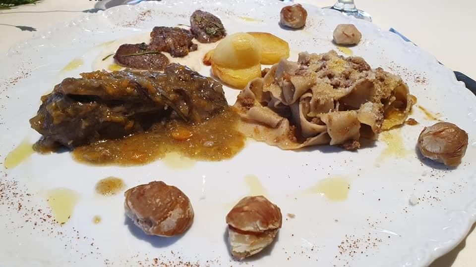 """""""il piatto del cacciatore dedicato alla memoria del Maestro Puccini"""" Ristorante La Chandelle"""